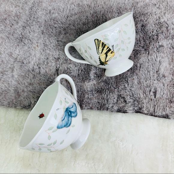 Lenox Butterfly Meadow Tea Cups